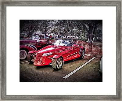 The Prowler Framed Print by Don Fleming