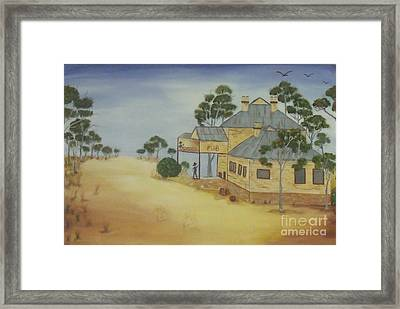 The Pub Framed Print by Debra Piro