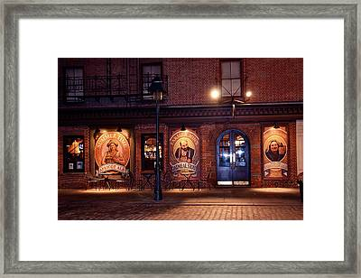 The Pub Framed Print by Terry Wallace
