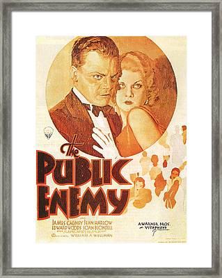 The Public Enemy Framed Print