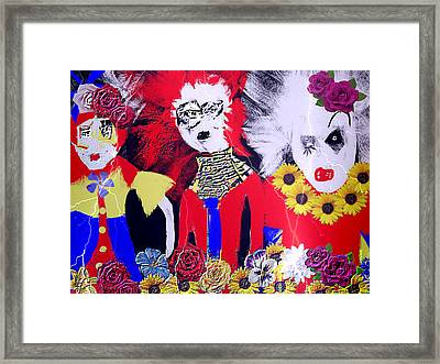 'the Punks 'come Out To Play Framed Print by Rc Rcd