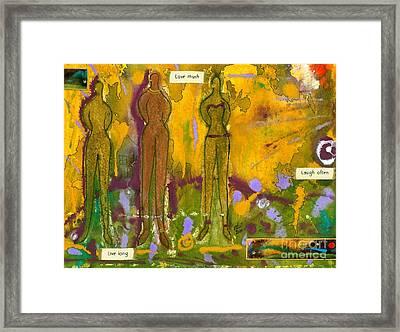 The Purpose Seekers Framed Print