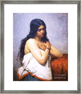 The Quadroon Girl Framed Print