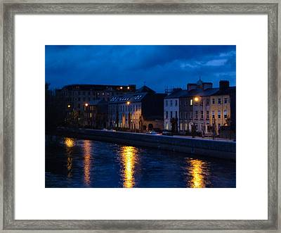 The Quay's Framed Print by Debra Collins