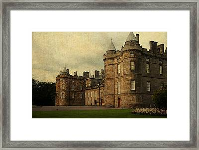 The Queen's Gallery. Edinburgh. Scotland Framed Print by Jenny Rainbow