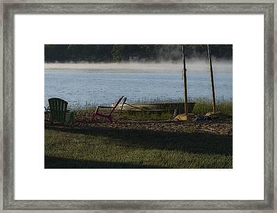 The Quiet Invitation Framed Print by Dean Bennett