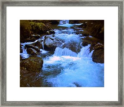 The Quintessential Falls Framed Print by HweeYen Ong