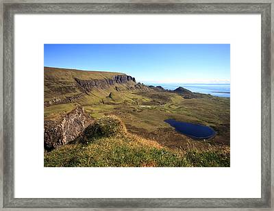 The Quiraing Isle Of Skye Framed Print