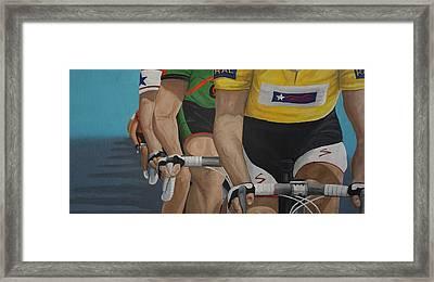 The Race Framed Print by Jennifer Lynch