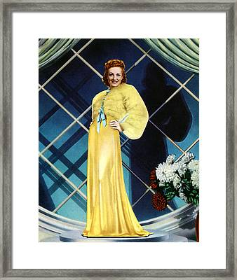 The Rage Of Paris, Danielle Darrieux Framed Print