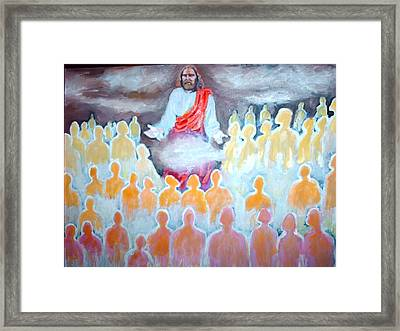 The Rapture The Gathering Framed Print by Anthony Renardo Flake