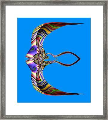 The Rare Mirror Fish Framed Print by Visual Artist  Frank Bonilla