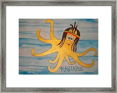 The Rastapus Framed Print by Erika Swartzkopf