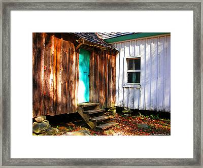 The Reagan House Kitchen Framed Print by Paul Mashburn