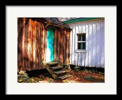 Sawboard House Framed Prints