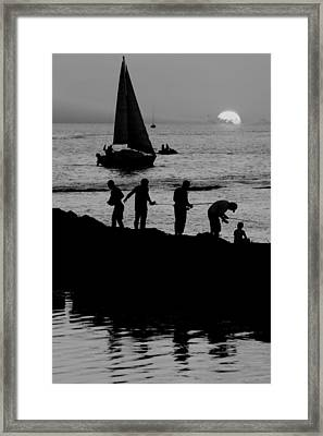 The Real American Pastime Framed Print by Frozen in Time Fine Art Photography