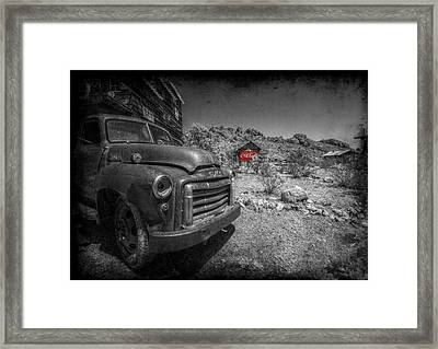 The Real Thing Framed Print by Christine Annas