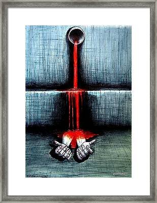 The Real Waste Of The Life Framed Print by Paulo Zerbato