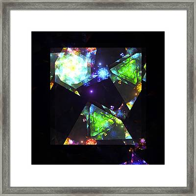 The Reality Distortion Field Framed Print by Steve K