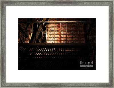 The Rear Window - 7d17463 Framed Print by Wingsdomain Art and Photography