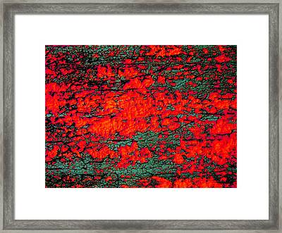 Framed Print featuring the photograph The Red Shed by Amy Sorrell