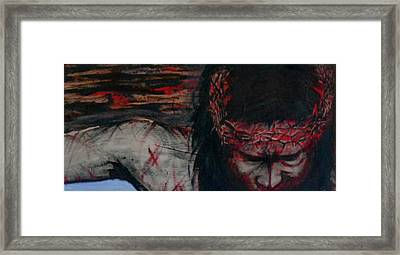 The Redemption Framed Print by Cheppy Japz