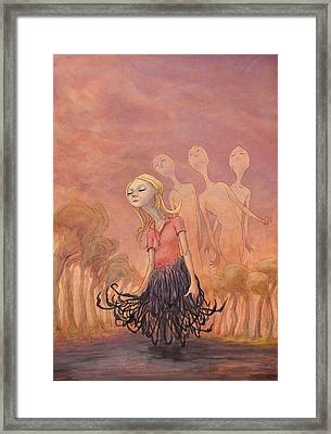 The Redhook Princess Framed Print by Ethan Harris