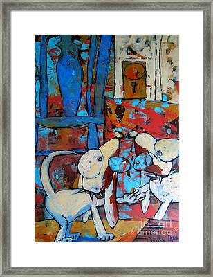 The Reflection Framed Print by Charlie Spear