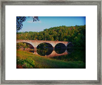 The Reflection Framed Print by Wayne Stacy