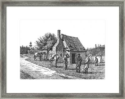The Reliable Contraband, 19th Century Framed Print by Photo Researchers