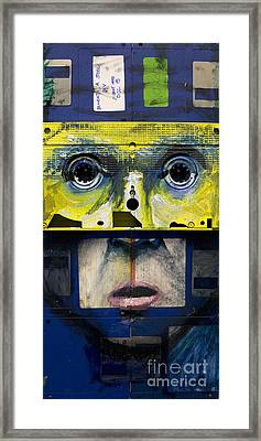 The Reproduction Number 5 Framed Print by Nick Jentry