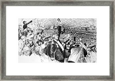 The Republican National Convention Framed Print by Everett