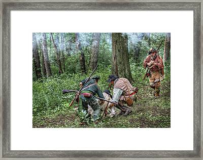 The Rescue Framed Print by Randy Steele
