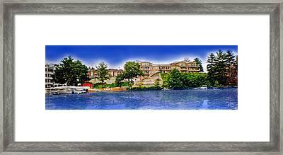 The Resort Framed Print