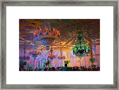 The Restaurant Framed Print