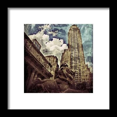Buildings Framed Prints