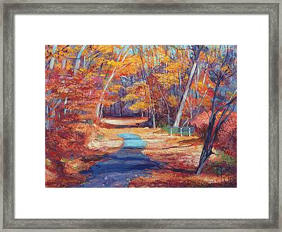 The Resting Place Framed Print by David Lloyd Glover