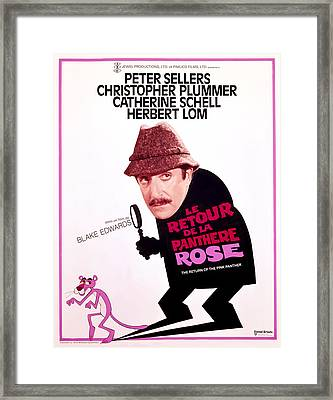 The Return Of The Pink Panther, Peter Framed Print by Everett
