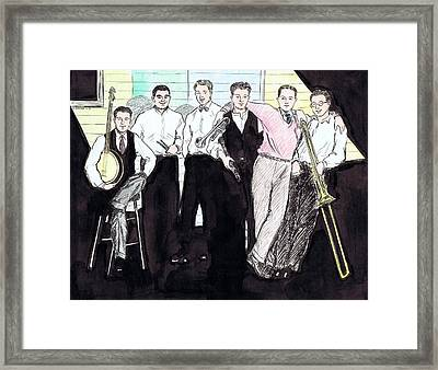 The Rhythm Jugglers Framed Print