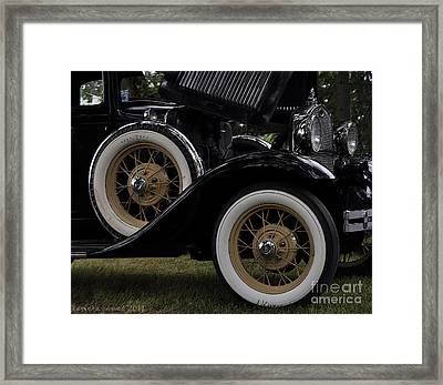 Framed Print featuring the photograph The Ride by Tamera James