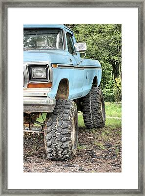 The Right Tools Framed Print by JC Findley
