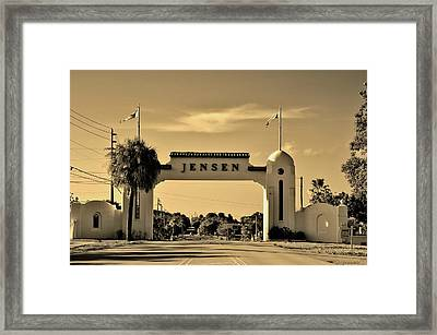 The Rio Arch Framed Print