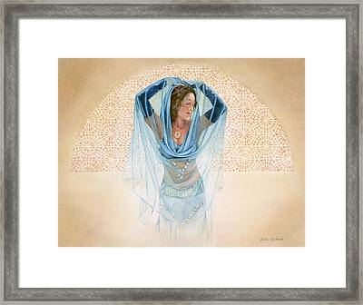 The Rising Sun Framed Print by Leslie Redhead