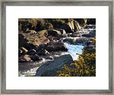 The River Caldew Framed Print