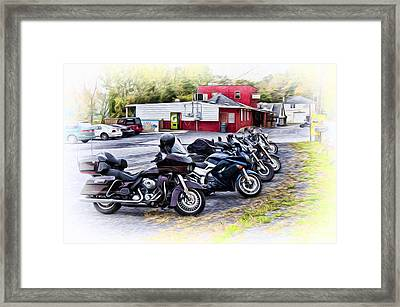The Riverside Barr And Grill - Easton Pa Framed Print by Bill Cannon