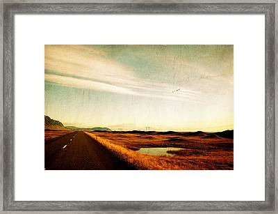 The Road Ahead Framed Print