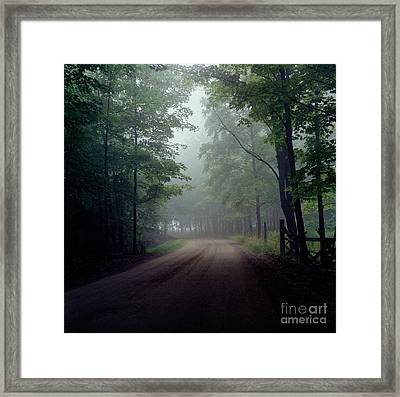 The Road Home #2 Framed Print by Michael Swanson