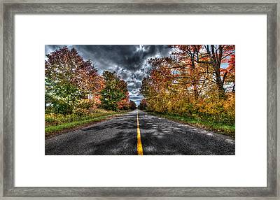 The Road Less Travelled Framed Print by Jeff Smith