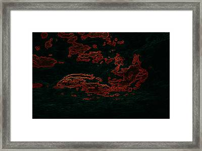 The Road Runner Framed Print by Travis Crockart