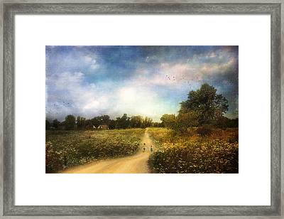 The Road That Leads To Home Framed Print
